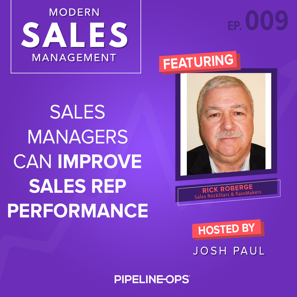 how to improve sales rep performance