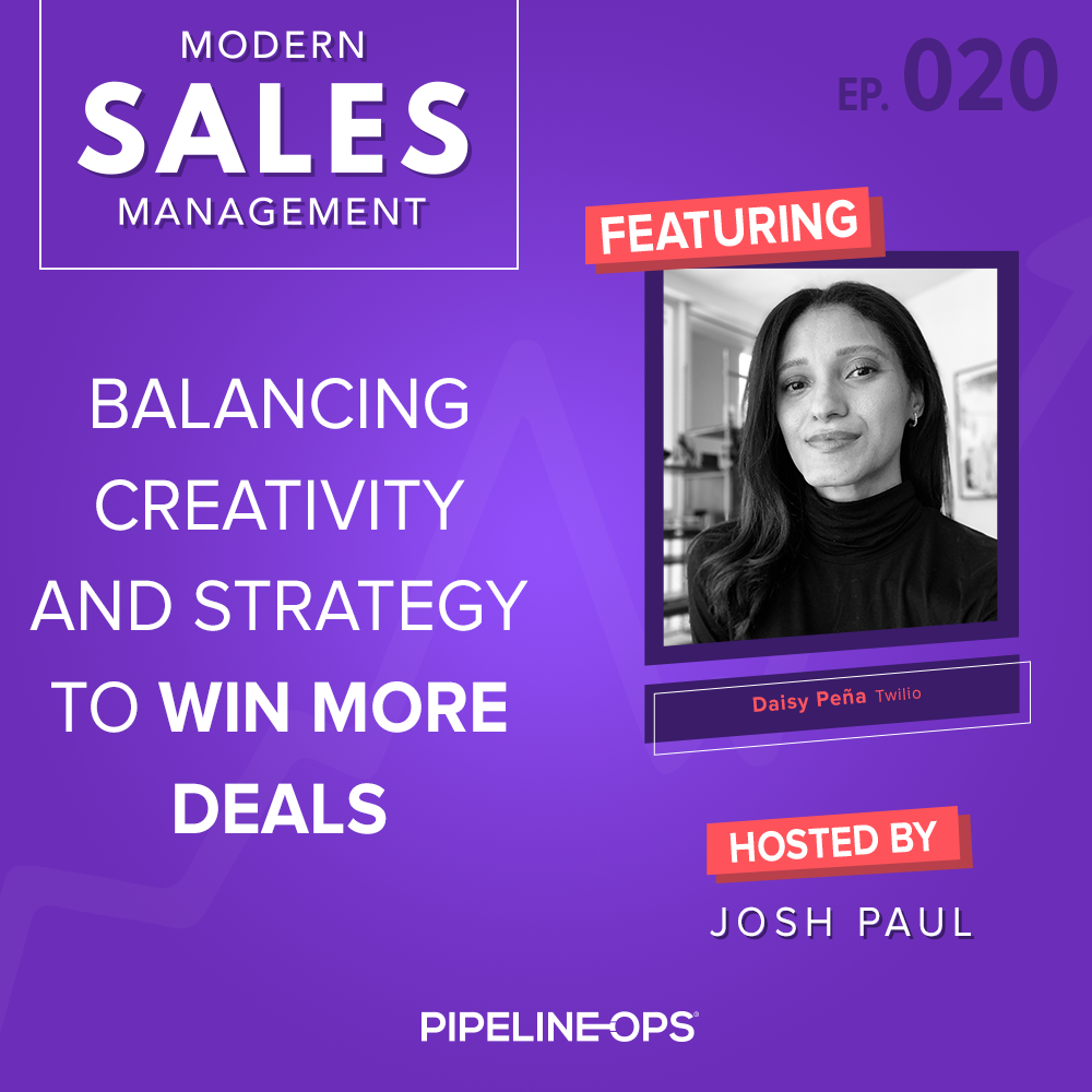 balancing creativity and strategy to win more deals with Daisy Peña