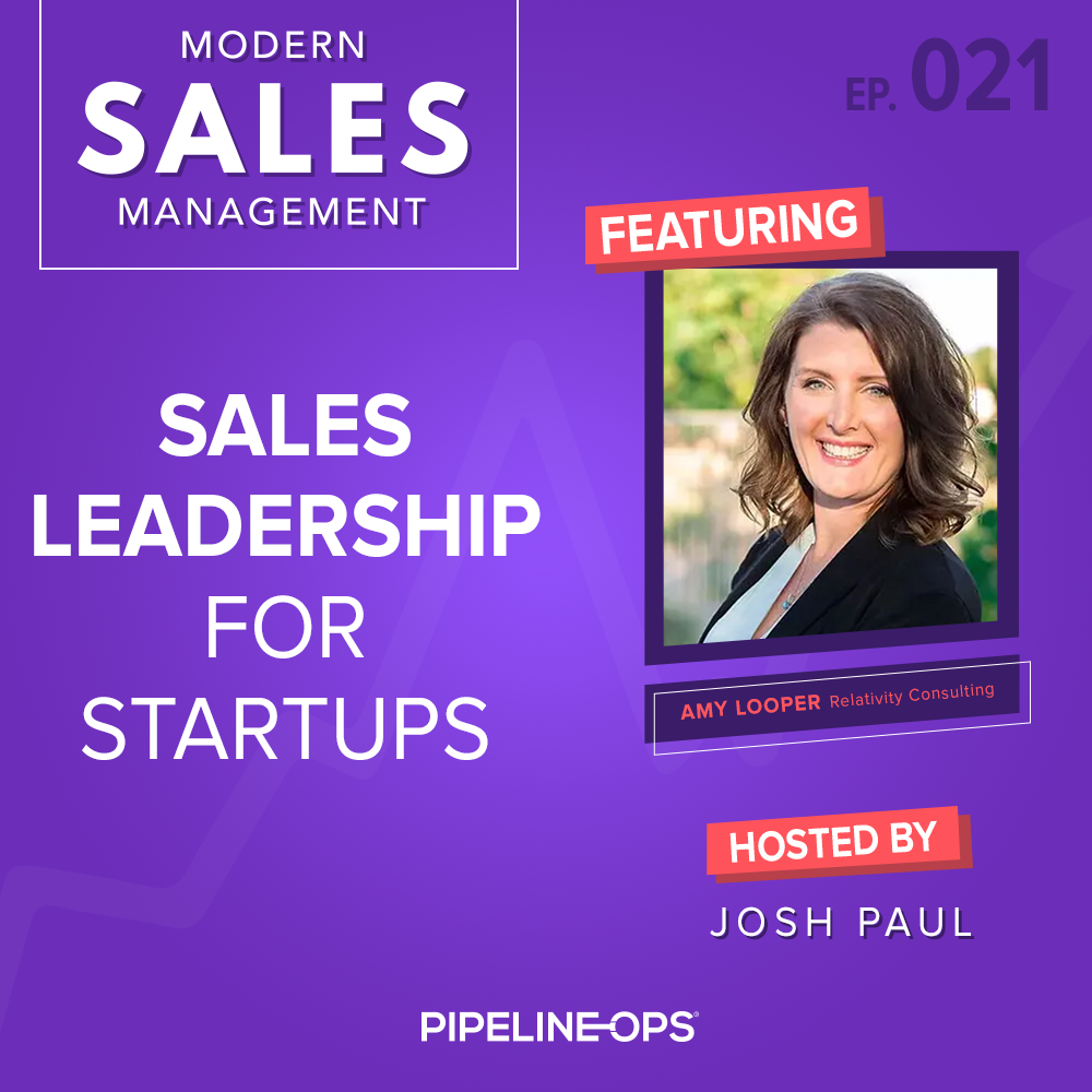 sales leadership for startups with Amy Looper