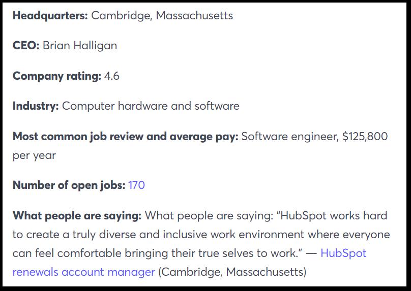 HubSpot Company Culture