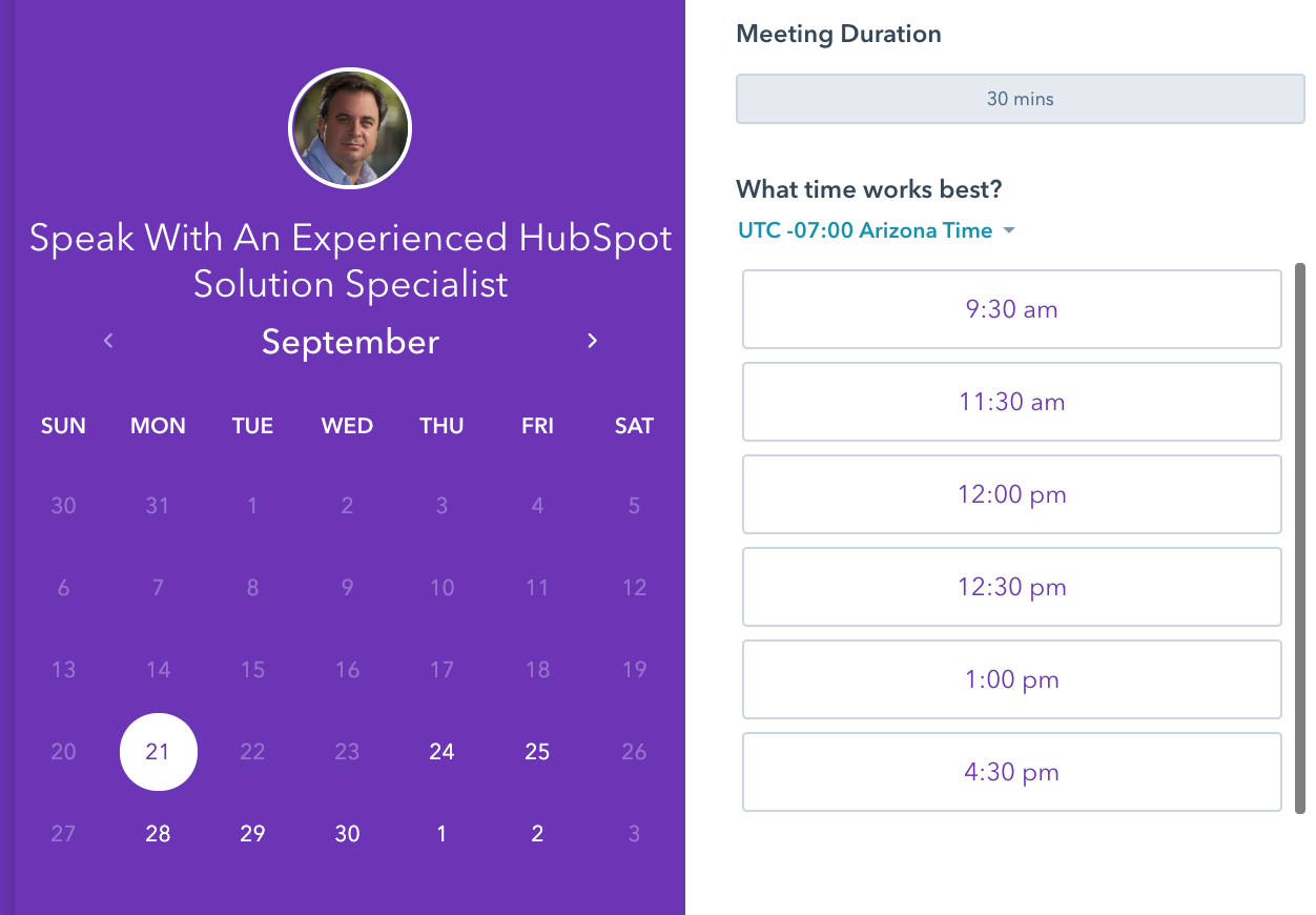 using calendar tools for sales productivity