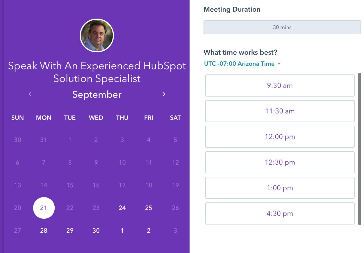 using calendar tools for sales productivity