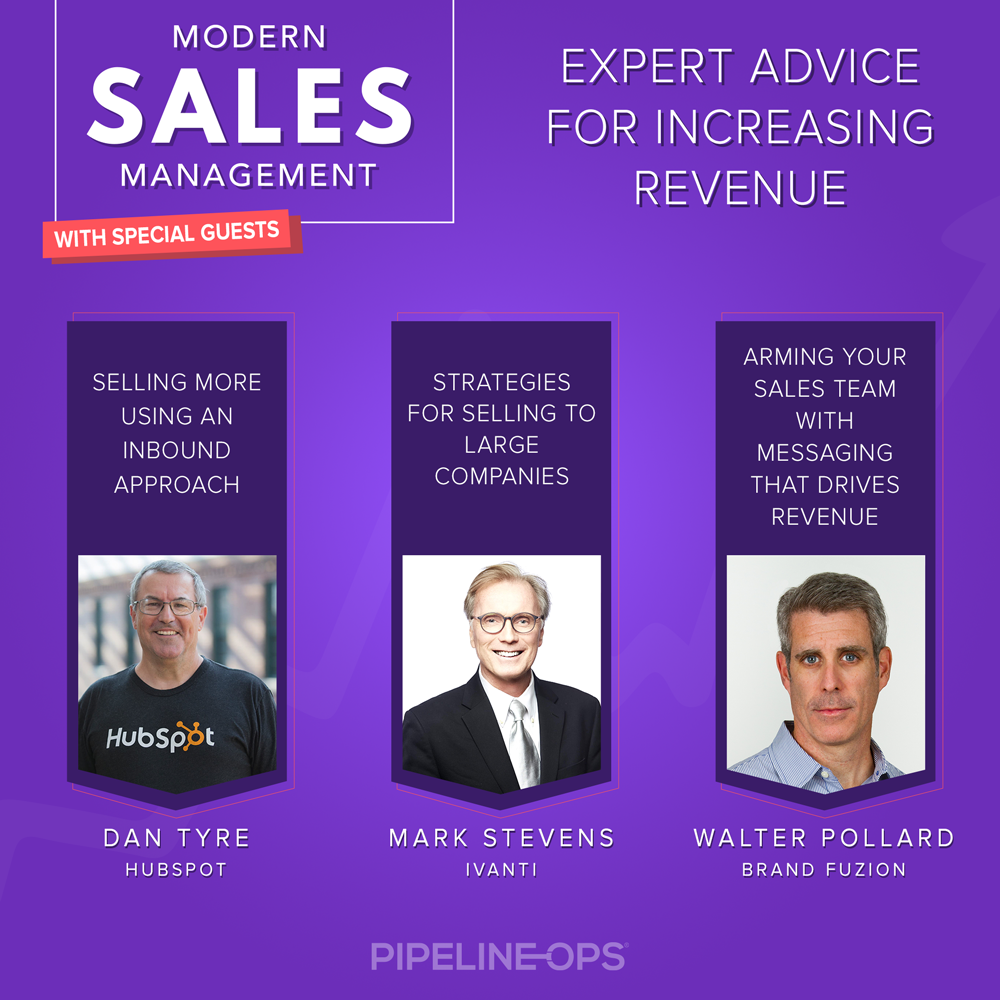 podcast for sales managers, vp of sales, and chief revenue officers